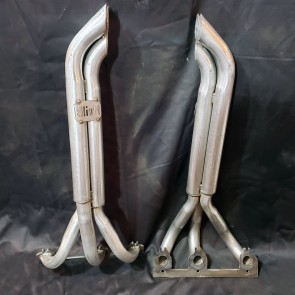 V6 3 into 1 Headers 1 1/2 inch Primary Pipes with Turnout Collectors